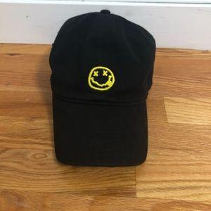 Black Nirvana Band Dad Hat